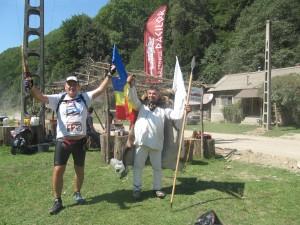 """Maratonul dacilor 2015 - Intalnirea cu """"regele"""" Decebal"""
