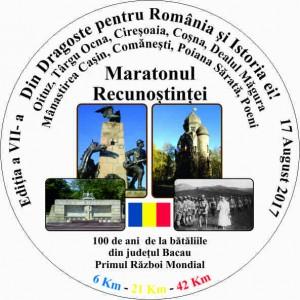 MEDALIE Maraton -TARGU OCNA- OITUZ- 08 august 2017