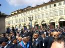 View The Pe strazile orasului Torino - cu drapelele Romaniei, Italiei, UE si ONU Album